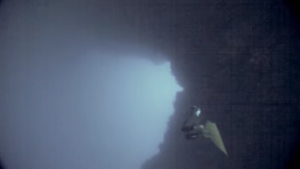 Matt Malina swims through the arch on single breath of air Dahab Egypt Blue Hole