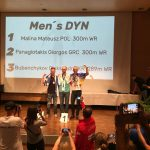 Award ceremony at world championships in freediving matt malina