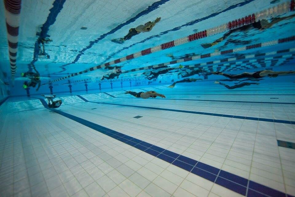 Underwater footage of dynamic 300m swim matt malina 300 meters