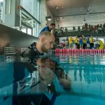 Matt Malina last breaths before new world record 244m swim