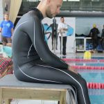 Matt Malina focus and concentrate before entering pool before world record dnf 244