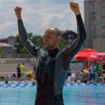 Matt Malina Limitless become world champion gold medal freediving belgrade dnf 214m happiness -1