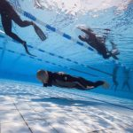 Matt Malina Limitless swims for the gold medal world championship freediving underwater photo -1