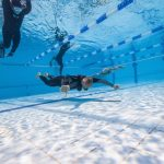 Matt Malina Limitless swims for the gold medal world championship freediving underwater photo