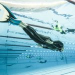 Matt Malina swims underwater 285 and breaks freediving world record