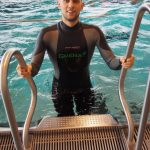 Matt Malina brake new world record in freediving dnf 226m dynamic without fins brno