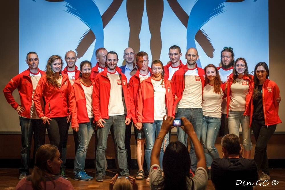 world championships polish freediving team with coaches
