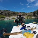 Limitless Matt Malina enjoy perfect conditions at Deans Blue Hole