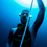 Limitless Matt Malina ascent from deep dive Limitless Deans Blue Hole Freediving -0