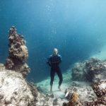 Limitless Matt Malina underwater photo session Daan Verhoeven Deans Blue Hole freediving -3