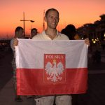 Polish Flag Matt Malina World Championships Kalamata Greece